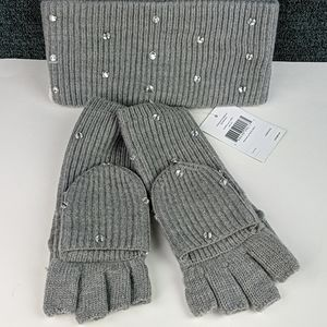 Kate Spade Bedazzled Gift Set, Gloves & Headband